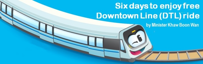 Six days to enjoy free DTL ride_Header