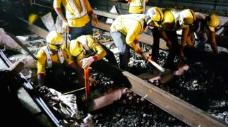 SMRT Resleepering Works (1)